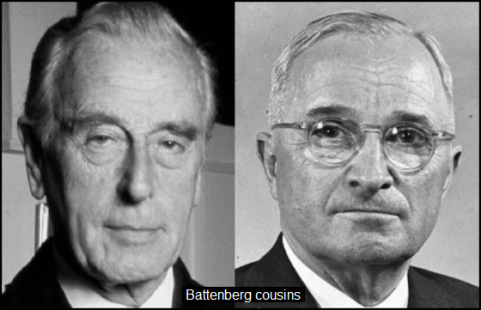 Mountbatten Truman COUSINS 560