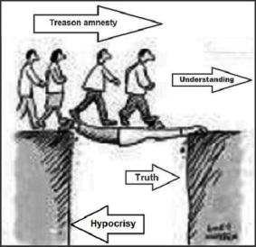 Treason amnesty hypocrisy 520
