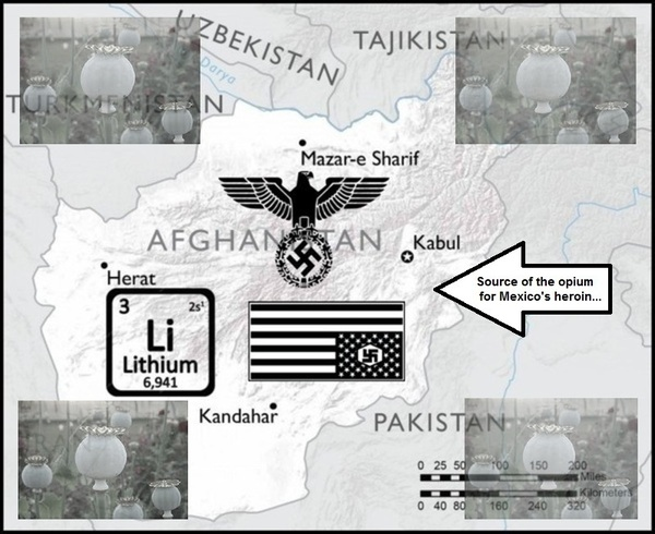 Afghan Lithium Nazi source of Mexican heroin 600