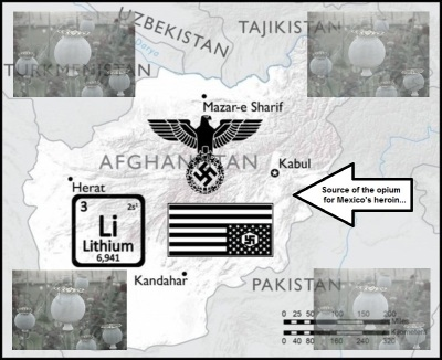 Afghan Lithium Nazi source of Mexican heroin 798