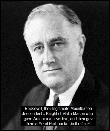 franklin-roosevelt Pearl Harbour fart in the face