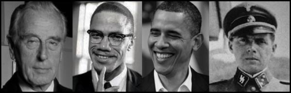 Mountbatten Malcolm X Obama Mengele 600