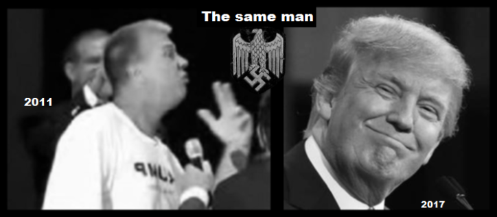 The Two (One) fake Trump's SAME MAN (2)