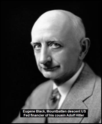 US Fed Hitler financier 1933 Eugene R Black