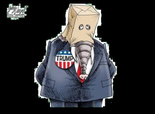 Varve Trump elephant black 600