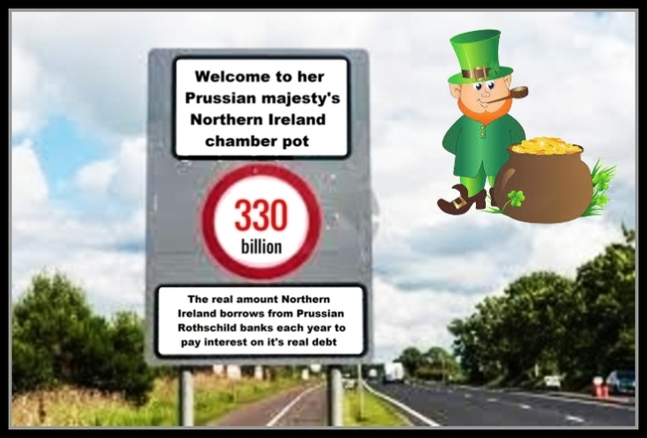 Northern Ireland debt LEPRECHAUN'S GOLD