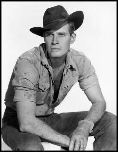 Charlton Heston cowboy