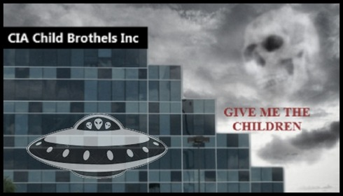 CIA Child Brothels Give me the children FLYING SAUCER Border 490