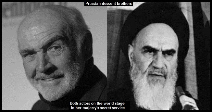 Connery and the Ayotollah Prussian brothers
