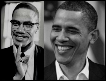 Malcolm X and Obama BEST