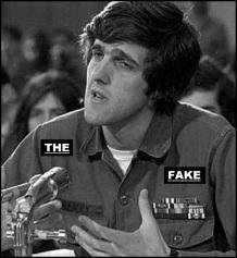marine john kerry the fake