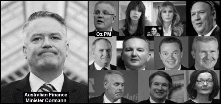oz finance minister cormann and the schwammberger's 732