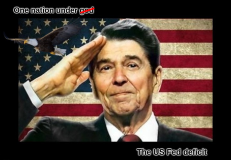 reagan one nation under the us fed deficit better