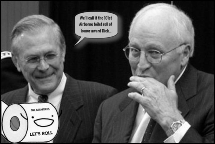 rumsfeld_cheney 101 assholes