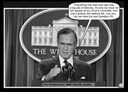 Bush 41 BND ~ Next question please ~ Broader border (3)