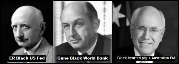 Eugene Black x 2 and John Howard black hearted pigs 600