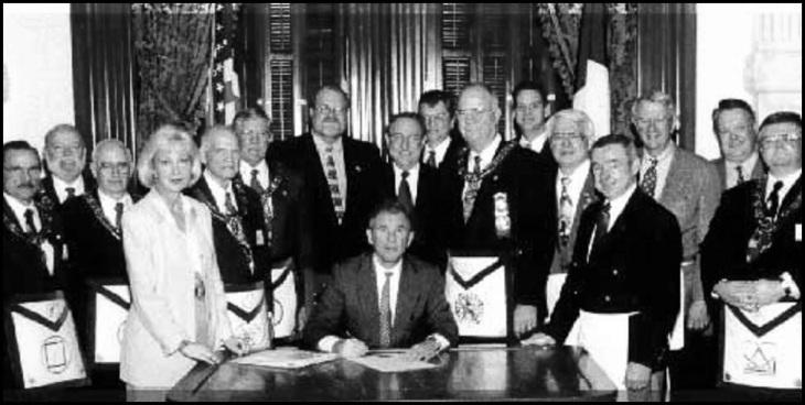George Walker Bush Mason black and white (6)