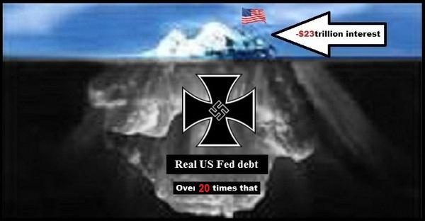 Iceberg real US Fed debt 600 BETTER