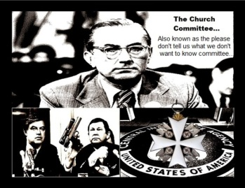 Frank Church Committee ~ Knight of Malta LARGE CIA