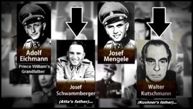Odessa Atta's Kushner's father Eichmann Prince William's grandfather 600