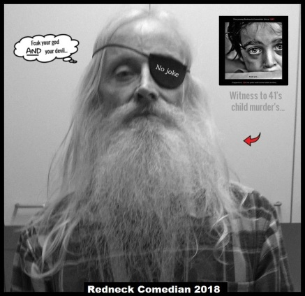 Redneck Comedian FCUK YOUR GOD _ Red Arrows NO JOKE