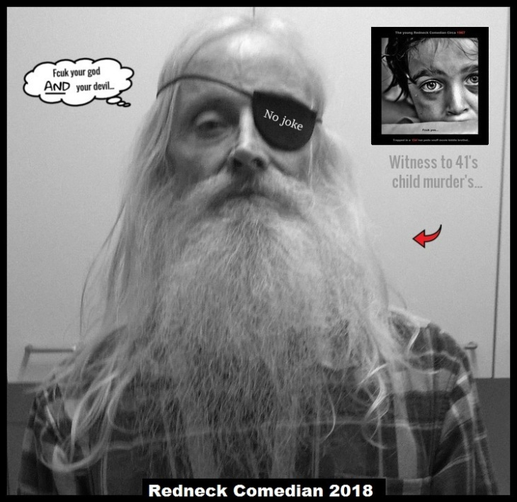 Redneck Comedian FCUK YOUR GOD _ Red Arrows NO JOKE