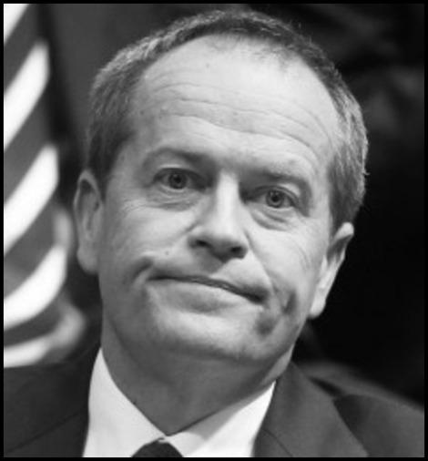 Bill Shorten BORDER