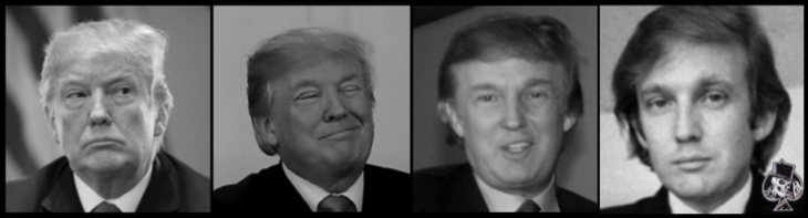 Three Trumps and the Ace of Spades