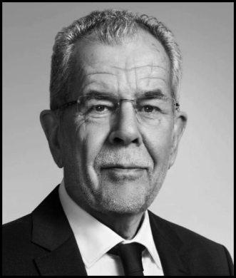 Austrian Federal President Van Der Bellen BW