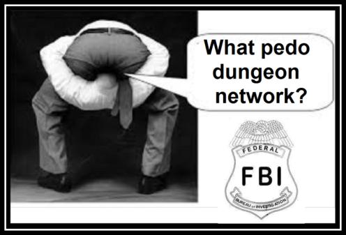 Head up ass 'FBI' guy badge