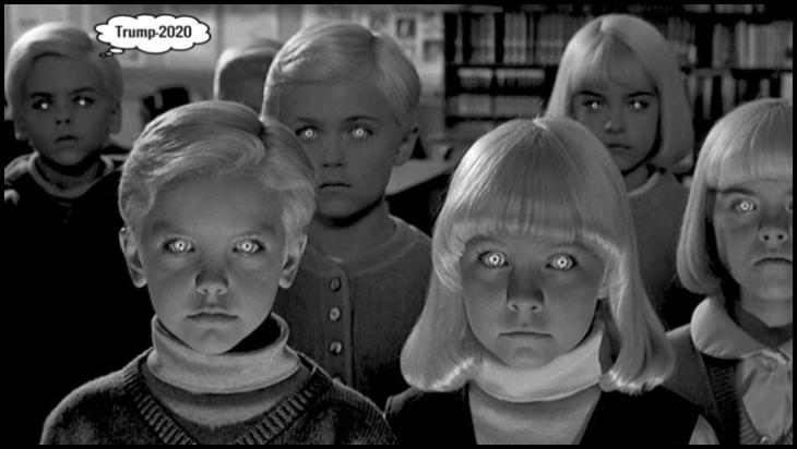 HIve mind children for Trump