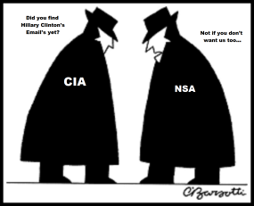 Men in black ~ FBI NSA Hillary Clinton's Emails (3)