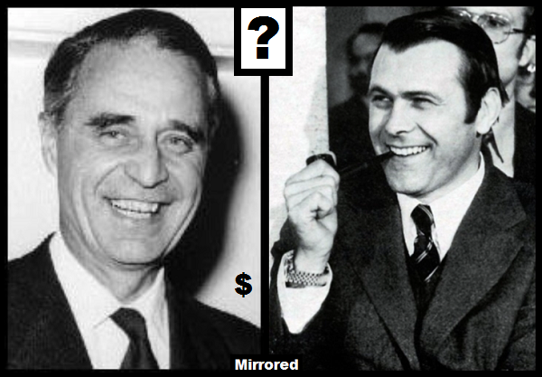 Rumsfeld and Prescott MIRRORED 600 dollar sign