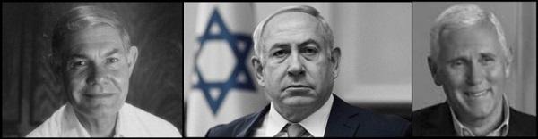 Tillerson Netanyahu Pence 600