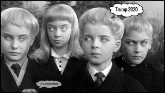 village-of-the-damned-original hive TRUMP-2020 mind