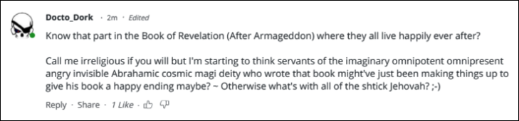 0004 USE THIS ONE FIRST Book of Revelation Armageddon ~ Imaginary deity
