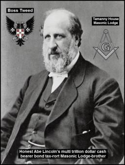 Boss Tweed written graphic Masonic border 600