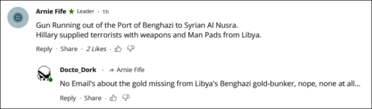 RT missing Benghazi gold