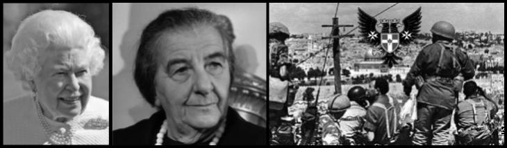Queen Golda Meir Arab Israeli war Prussian Eagle