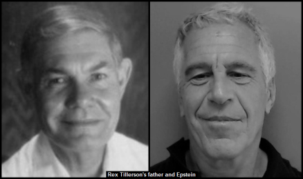 REX TILLERSON'S FATHER and EPSTEIN