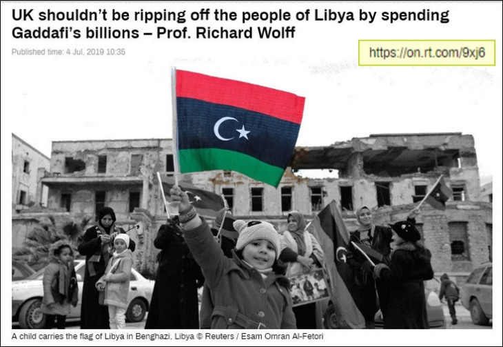 RT Pommy Prussian Libyan colonial thieves face page