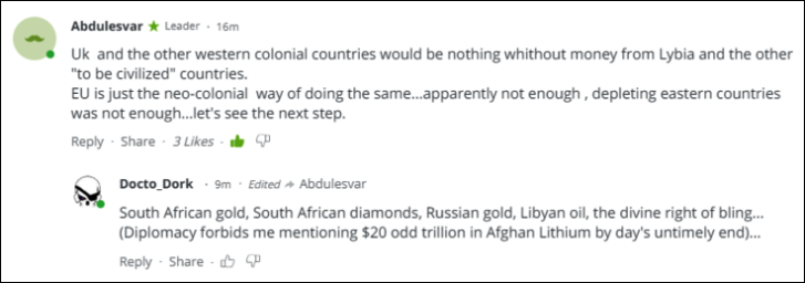 RT South African gold and diamonds, Russian gold, Libyan gold