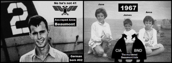 Bush #02 Beaumont children murdered by America and Germany