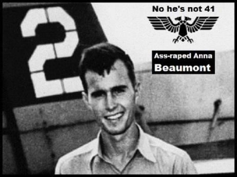 bush-02-double-headed-black-eagle-ass-raped-anna-beaumont GOOD GRAPHIC 600