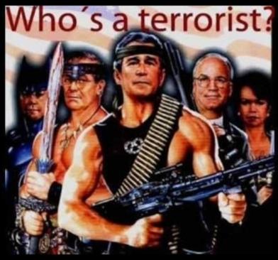 The terrorists Dubya Bush Cheney Rumsfeld etc 560