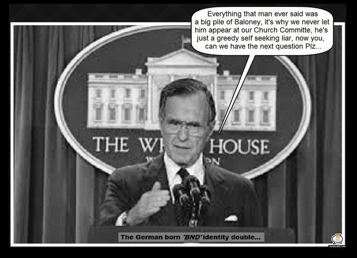 Bush 41 BND ~ Next question please ~ Broader border (4)