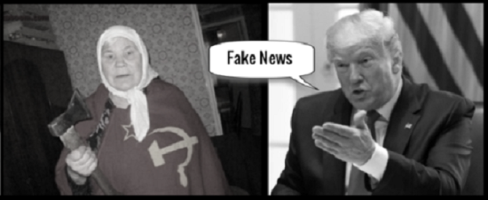 Faux-trump-Russian mother-fake-news
