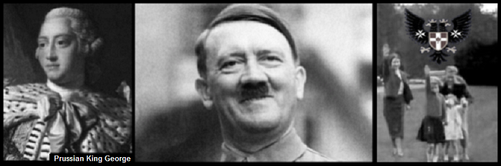 King George Hitler Royal family Nazi salute
