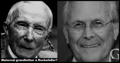 Rockefeller Grandfather Rumsfeld
