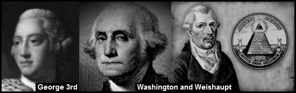 A King George Washington Weishaupt WRITTEN 600